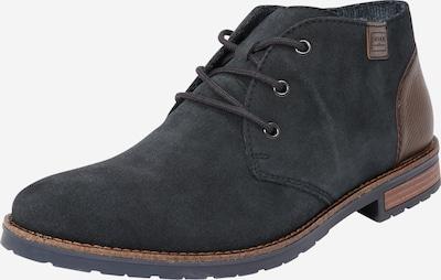 RIEKER Boots in dunkelblau / karamell, Produktansicht