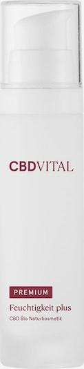 CBDVITAL Cream 'Feuchtigkeit Plus' in weiß, Produktansicht