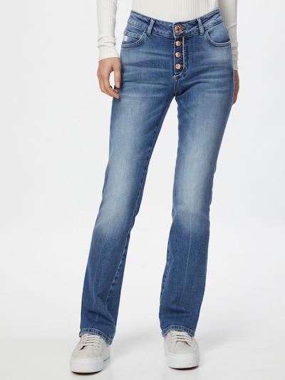 Goldgarn Jeans 'ROSENGARTEN' i blå denim, På modell
