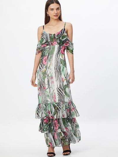 GUESS Robe en mélange de couleurs, Vue avec modèle