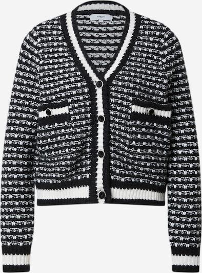 Geacă tricotată 'GILET GABRIEL' Suncoo pe negru / alb, Vizualizare produs