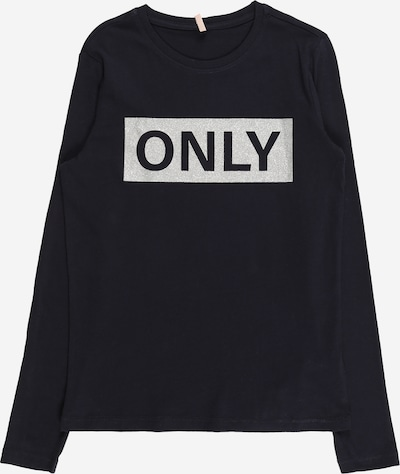KIDS ONLY Shirt 'WENDY ' in Night blue / Black / Silver, Item view