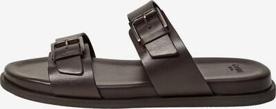 MANGO MAN Sandal i mörkbrun, Produktvy