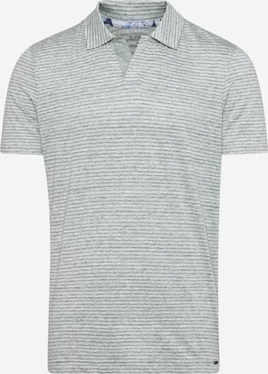OLYMP Camiseta 'Level 5' en esmeralda / blanco, Vista del producto