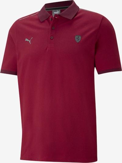 PUMA Funktionsshirt 'Scuderia Ferrari' in grau / burgunder, Produktansicht