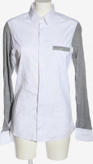 MICHALSKY Hemd-Bluse in S in hellgrau / weiß, Produktansicht