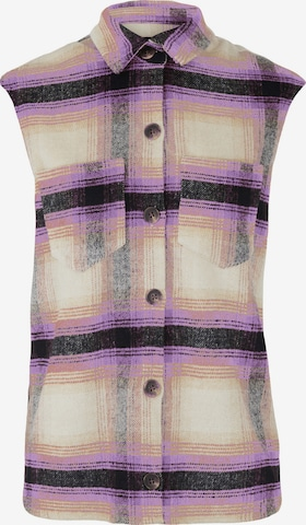 PIECES Blouse 'Carlene' in Lila