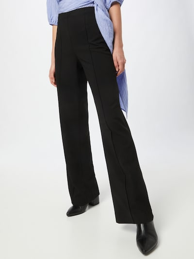 Pantaloni MADS NORGAARD COPENHAGEN di colore nero, Visualizzazione modelli
