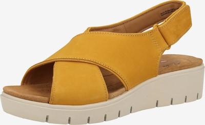 CLARKS Sandale in gelb, Produktansicht