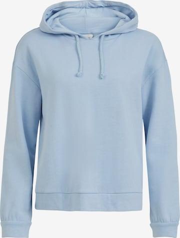 VILA Sweatshirt 'Rustie' in Blue