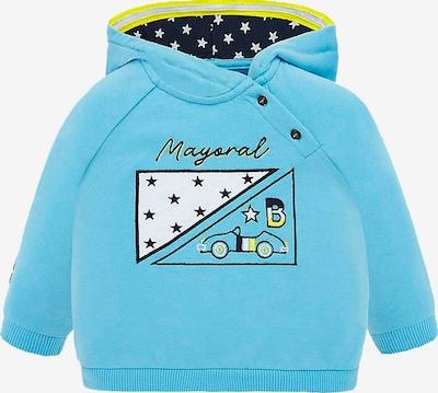 Mayoral Sweatshirt in blau, Produktansicht