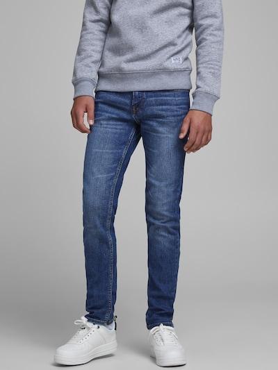 Jack & Jones Junior Jeans 'JJIGLENN' in blue denim: Frontalansicht