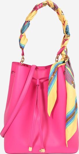 Lauren Ralph Lauren Tasche 'DEBBY' in blau / gelb / jade / pink, Produktansicht