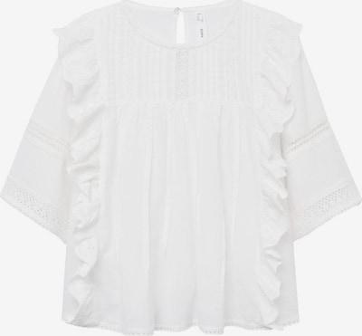Bluză 'Carina' MANGO pe alb, Vizualizare produs