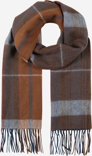JACK & JONES Schal in blau / braun, Produktansicht