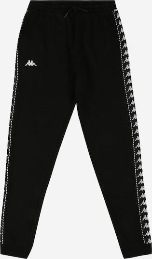 KAPPA Športové nohavice 'IRENEUS' - čierna / biela, Produkt