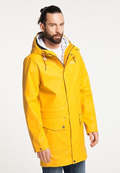 ICEBOUND Mantel in curry, Modelansicht