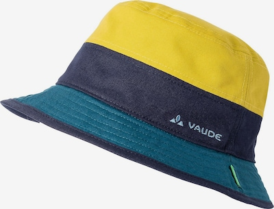 VAUDE Athletic Hat in Navy / Yellow / Petrol, Item view