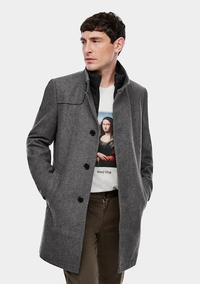 s.Oliver BLACK LABEL Tussenjas in de kleur Grijs, Modelweergave