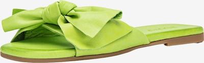 INUOVO Pantoletten in neongrün, Produktansicht
