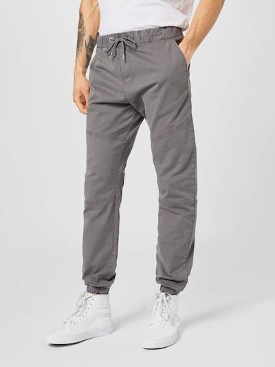 Kelnės iš Q/S designed by , spalva - tamsiai pilka, Modelio vaizdas