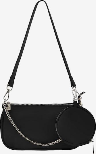 PIECES Чанта за през рамо 'Jilsana' в черно: Изглед отпред