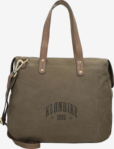 KLONDIKE 1896 Handtasche in khaki / oliv, Produktansicht