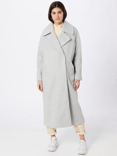 River Island Płaszcz przejściowy w kolorze jasnoszarym, Podgląd na modelu(-ce)