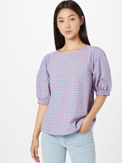 SISTERS POINT Bluse 'ECCA' in blau / pink, Modelansicht