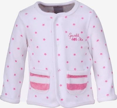 Stummer Übergangsjacke in pink / weiß, Produktansicht