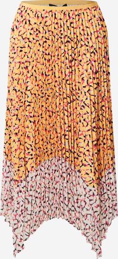 FRENCH CONNECTION Sukně 'EZEKE' - světle šedá / oranžová / pink / černá / bílá, Produkt