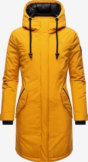 NAVAHOO Manteau d'hiver en moutarde / noir, Vue avec produit