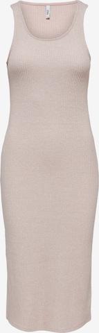 ONLY Kleid 'CHERRY' in Beige