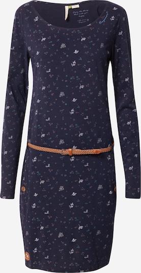 Ragwear Kleid 'Talona' in nachtblau / hellblau / hellbraun / pastellpink, Produktansicht