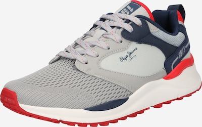 tengerészkék / sötétszürke / piros Pepe Jeans Rövid szárú edzőcipők, Termék nézet