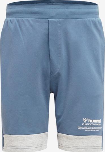 Hummel Spodnie sportowe w kolorze niebieski / jasnoszarym, Podgląd produktu