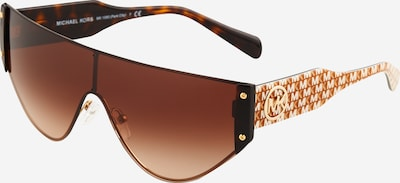 Michael Kors Sunčane naočale 'PARK CITY' u hrđavo smeđa / konjak / zlatna / bijela, Pregled proizvoda