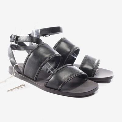 Brunello Cucinelli Sandalen in 37,5 in schwarz, Produktansicht