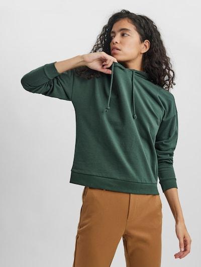VERO MODA Sweatshirt 'OCTAVIA' in dunkelgrün: Frontalansicht