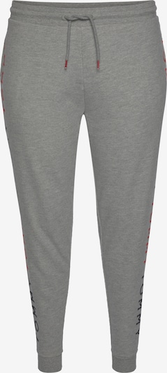 TOMMY HILFIGER Pants in Grey / Fire red, Item view