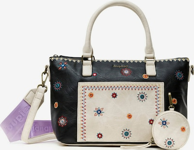 Desigual Bolso de mano 'MOON PADUA' en crema / mezcla de colores / negro, Vista del producto