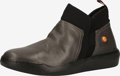 Softinos Stiefelette in grau / schwarz, Produktansicht