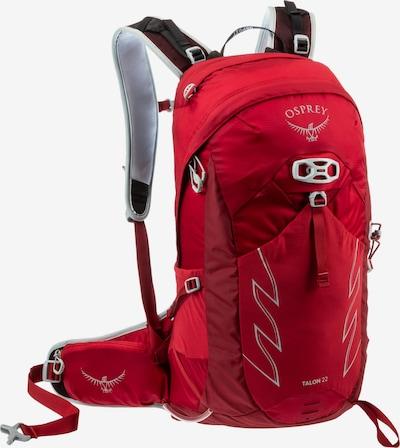 Osprey Rucksack 'Talon 22' in rot / weinrot, Produktansicht