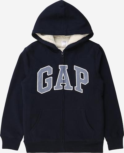 GAP Sweatjacke in dunkelblau, Produktansicht