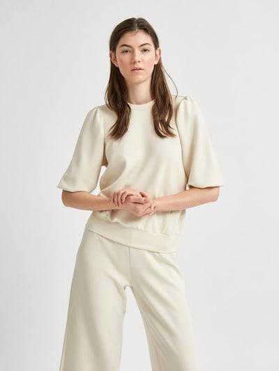 SELECTED FEMME Sweatshirt 'SLFTENNY' in offwhite, Produktansicht