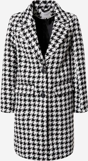 JACQUELINE de YONG Abrigo de entretiempo en negro / blanco, Vista del producto