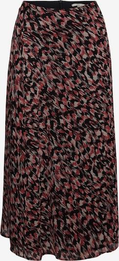 EDC BY ESPRIT Jupe en mélange de couleurs / noir, Vue avec produit