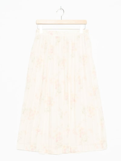 Leslie Fay Skirt in L/34 in Champagne, Item view