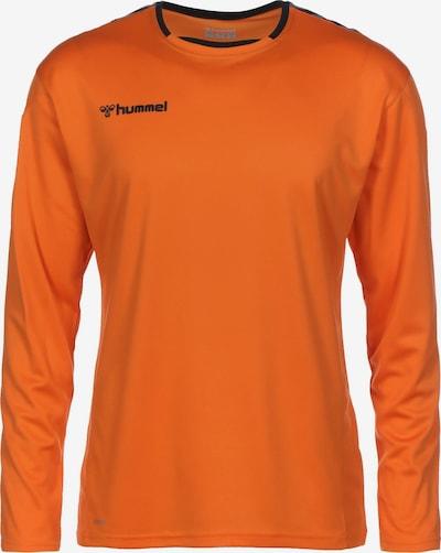 Hummel Functioneel shirt in de kleur Sinaasappel / Zwart, Productweergave