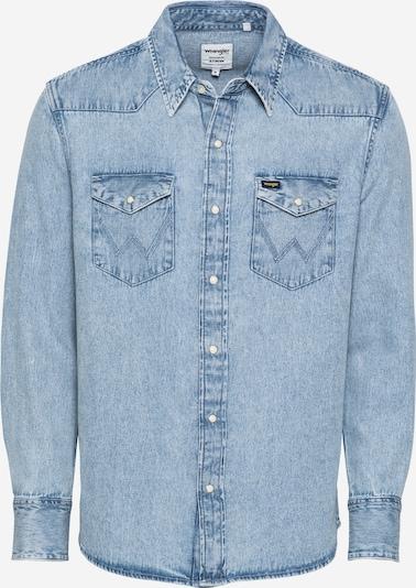 Camicia WRANGLER di colore blu denim, Visualizzazione prodotti